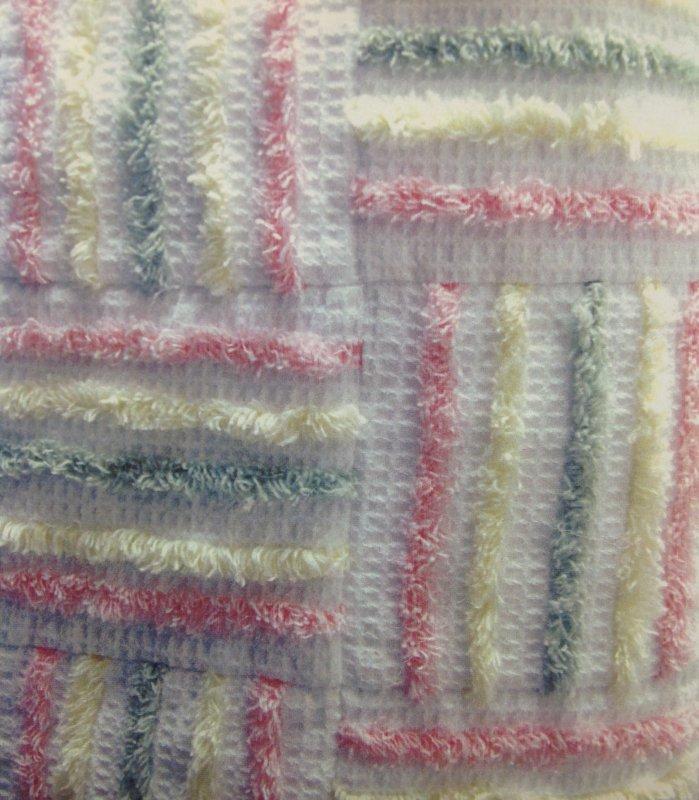 It Strip Pieced Chenille Quilt : chenille quilts - Adamdwight.com