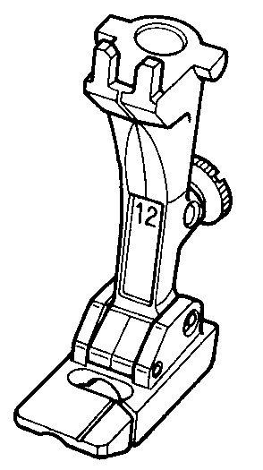 #12C Bulky overlock Foot