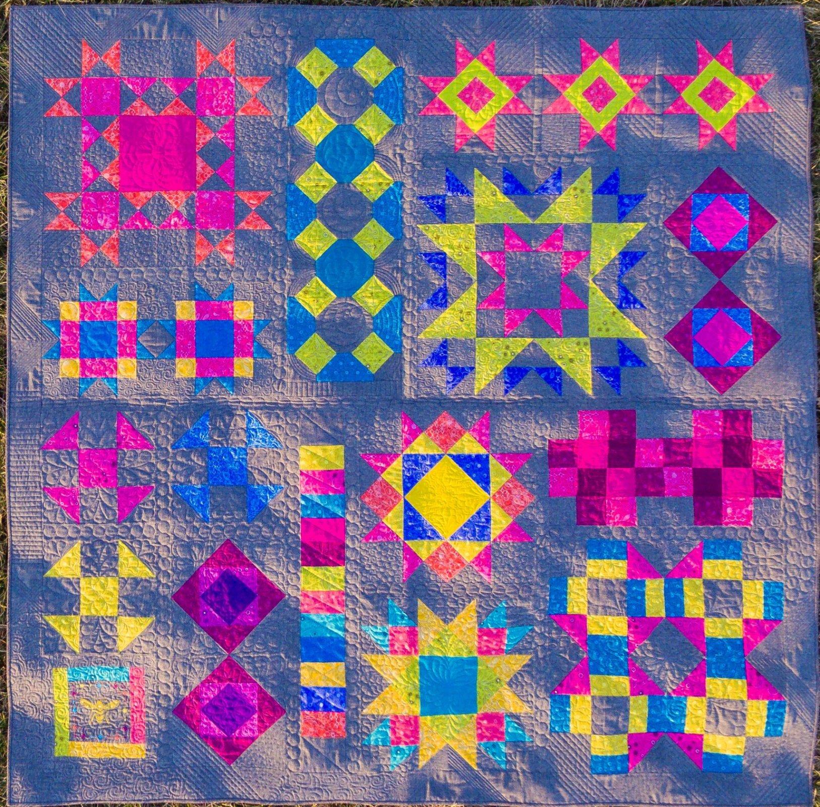 BERNINA Block Party Class : unique quilt blocks - Adamdwight.com