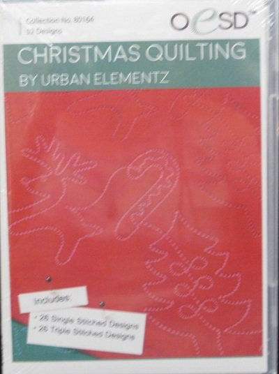 cd  Christmas Quilting by UE