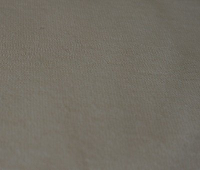 Cream cott-poly single knit