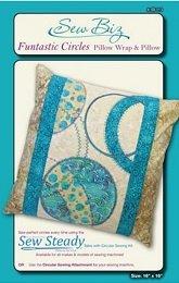 Funtastic Cirlces Pillow &Wrap