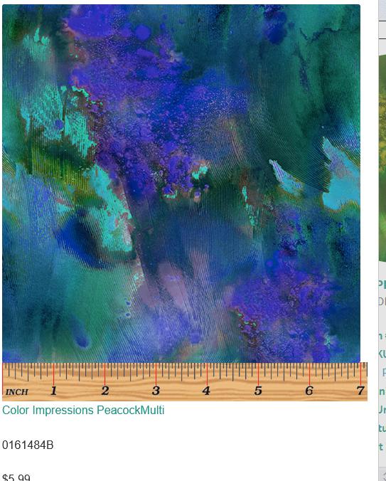 Color Impressions-Peacock/Multi