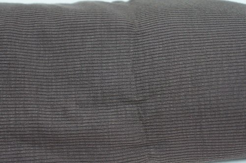 R13= Brown ribbed Rayon/poly single knit 1.5 yds