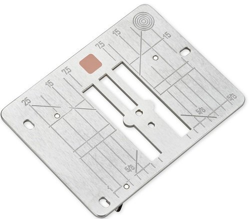 Straight/Cutwork throat plate 7-S  BNG 5  & 480
