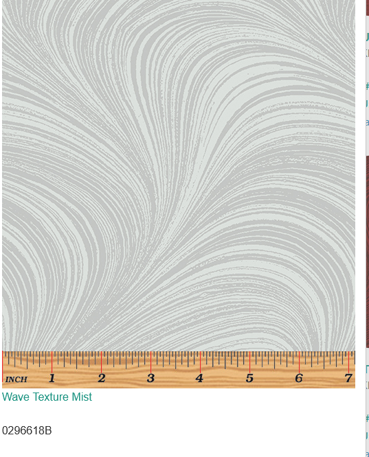 Wave texture Mist