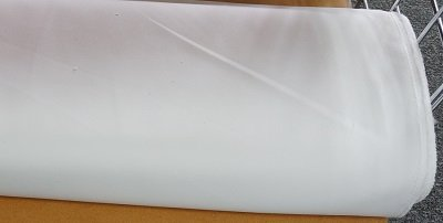 White Tablecloth Fabric