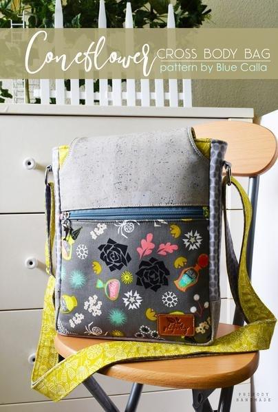 Coneflower Crossbody Bag