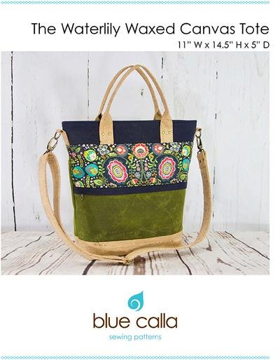 The Waterlily Waxed Tote