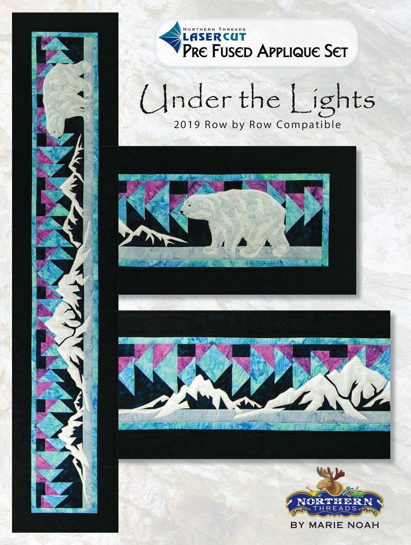 Under the Lights Applique Set- Pattern Needed