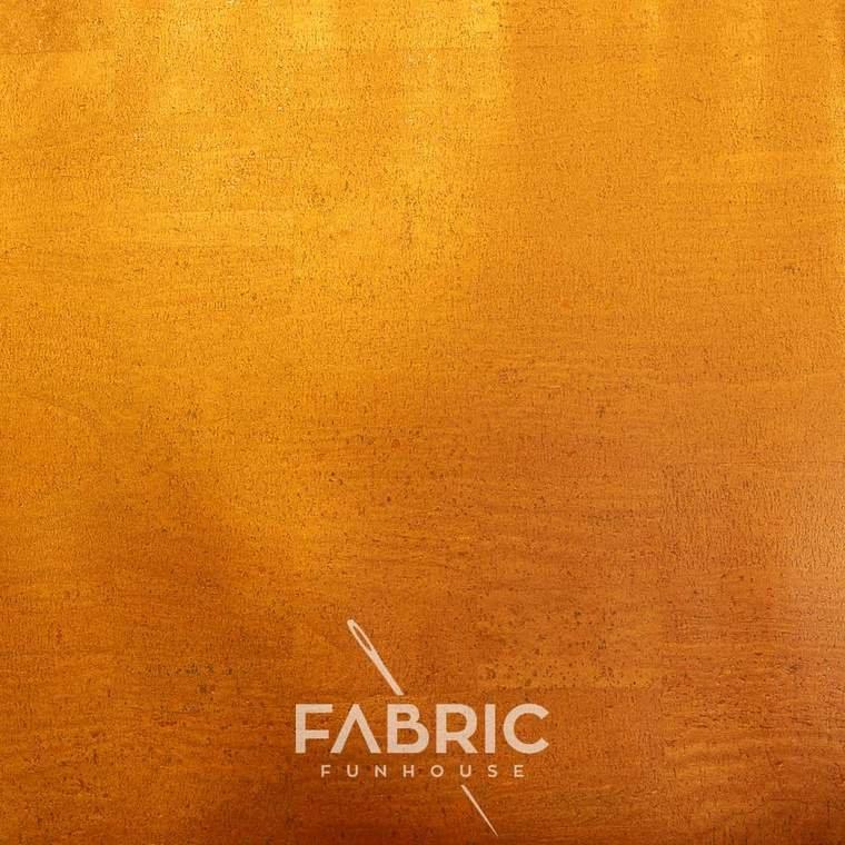 FF Cork Shimmering Orange Sunset 18 x 27