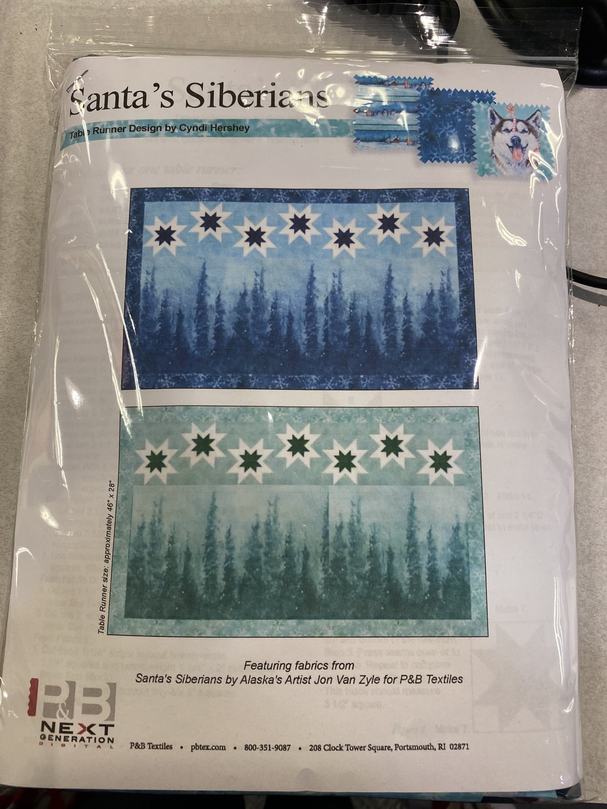 Santas Siberian Kit (Blue)