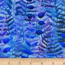 P&B Rockgarden Blue Ferns