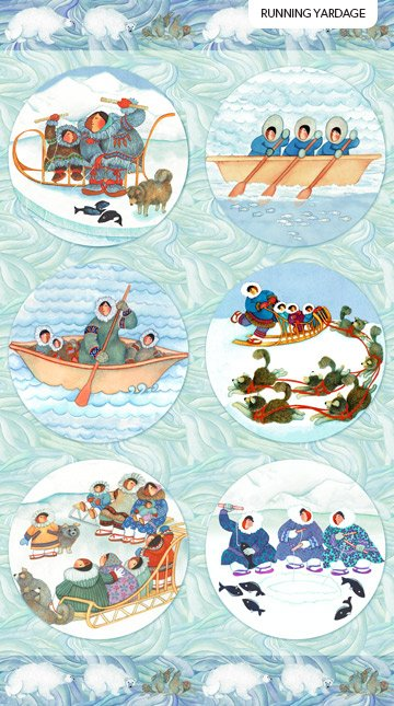 NM Arctic Wonders Panel DP23418-42