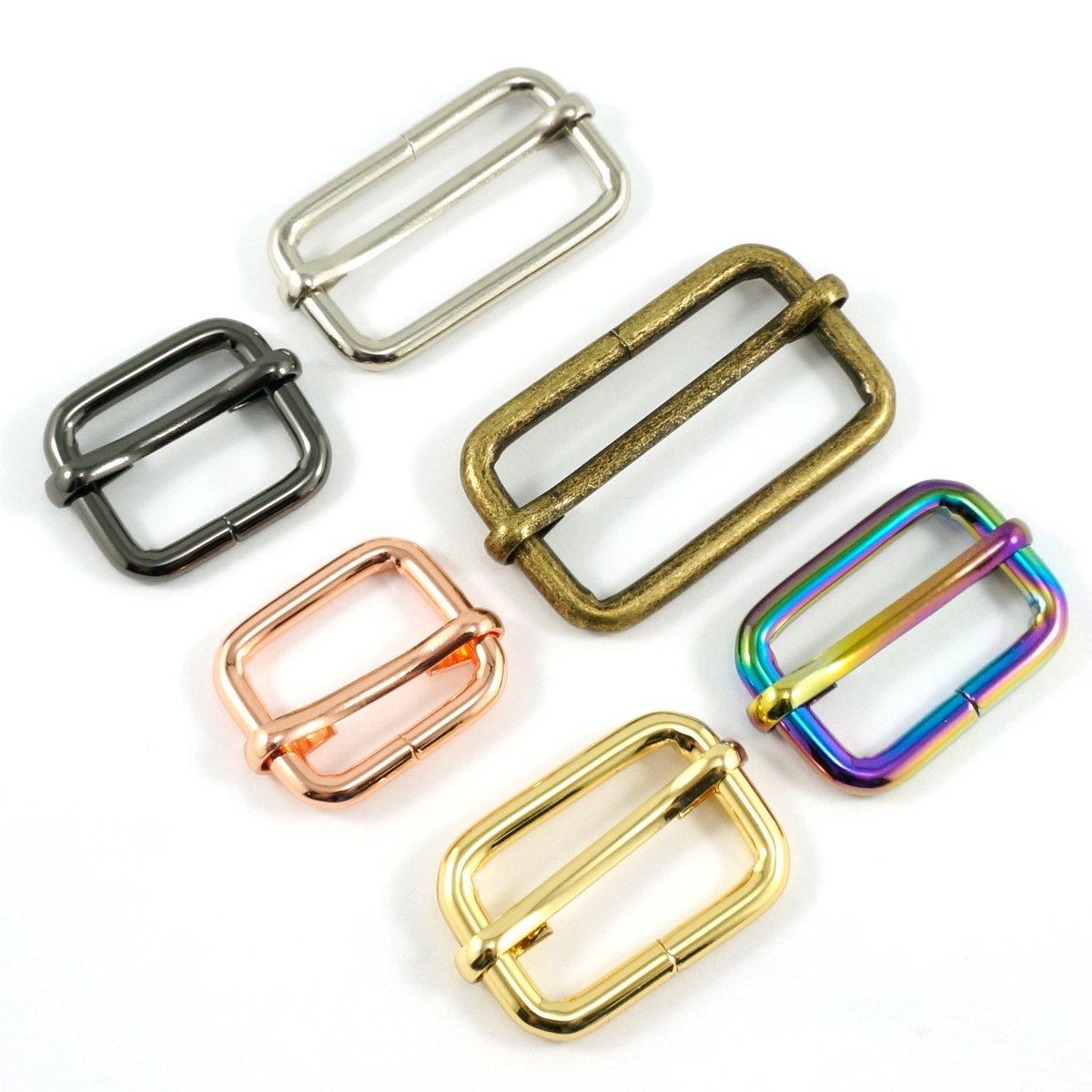 EB 1 Adjustable Slider Antique Brass- 2 Pack