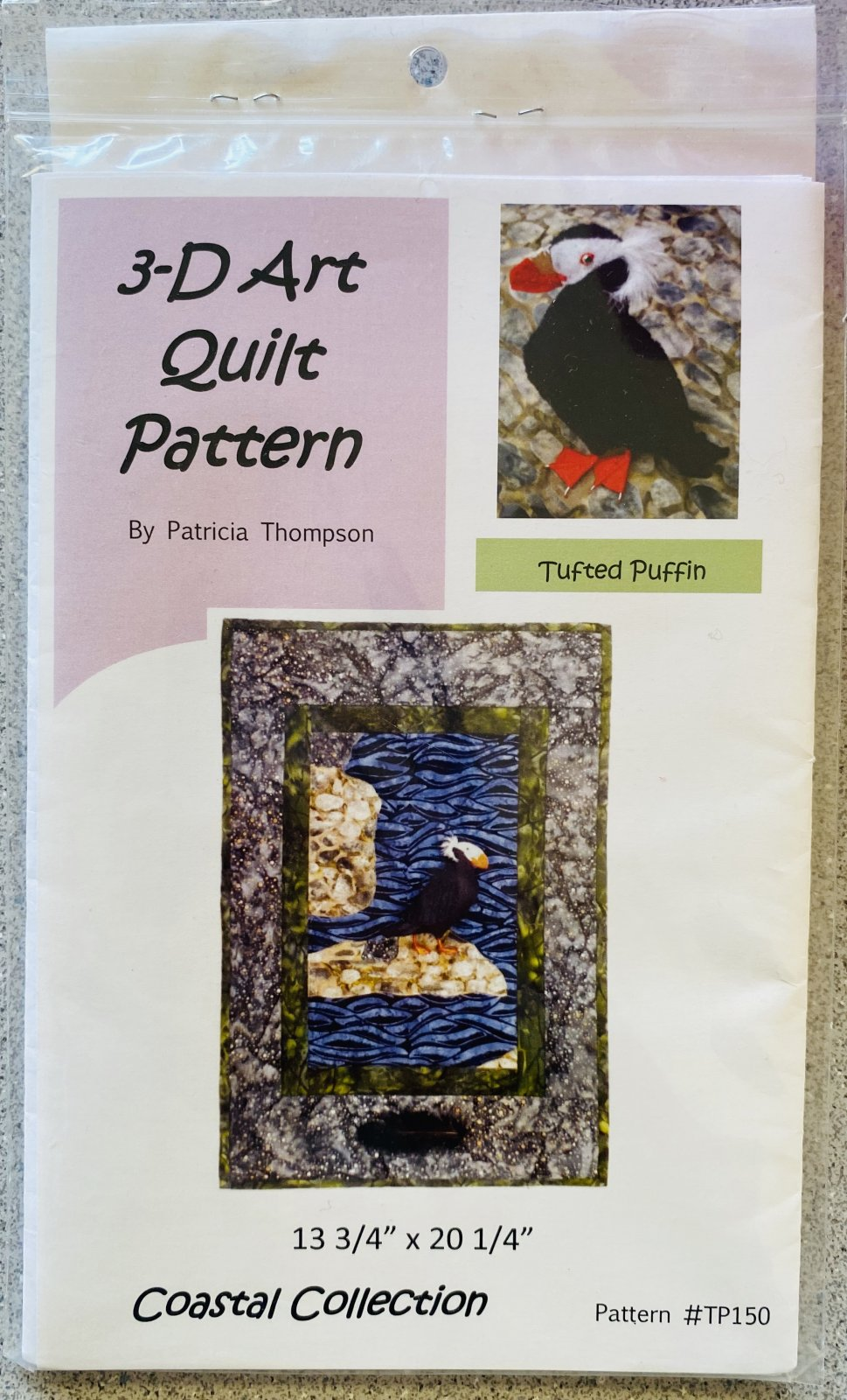 Coastal Collection Tufted Puffin Kit
