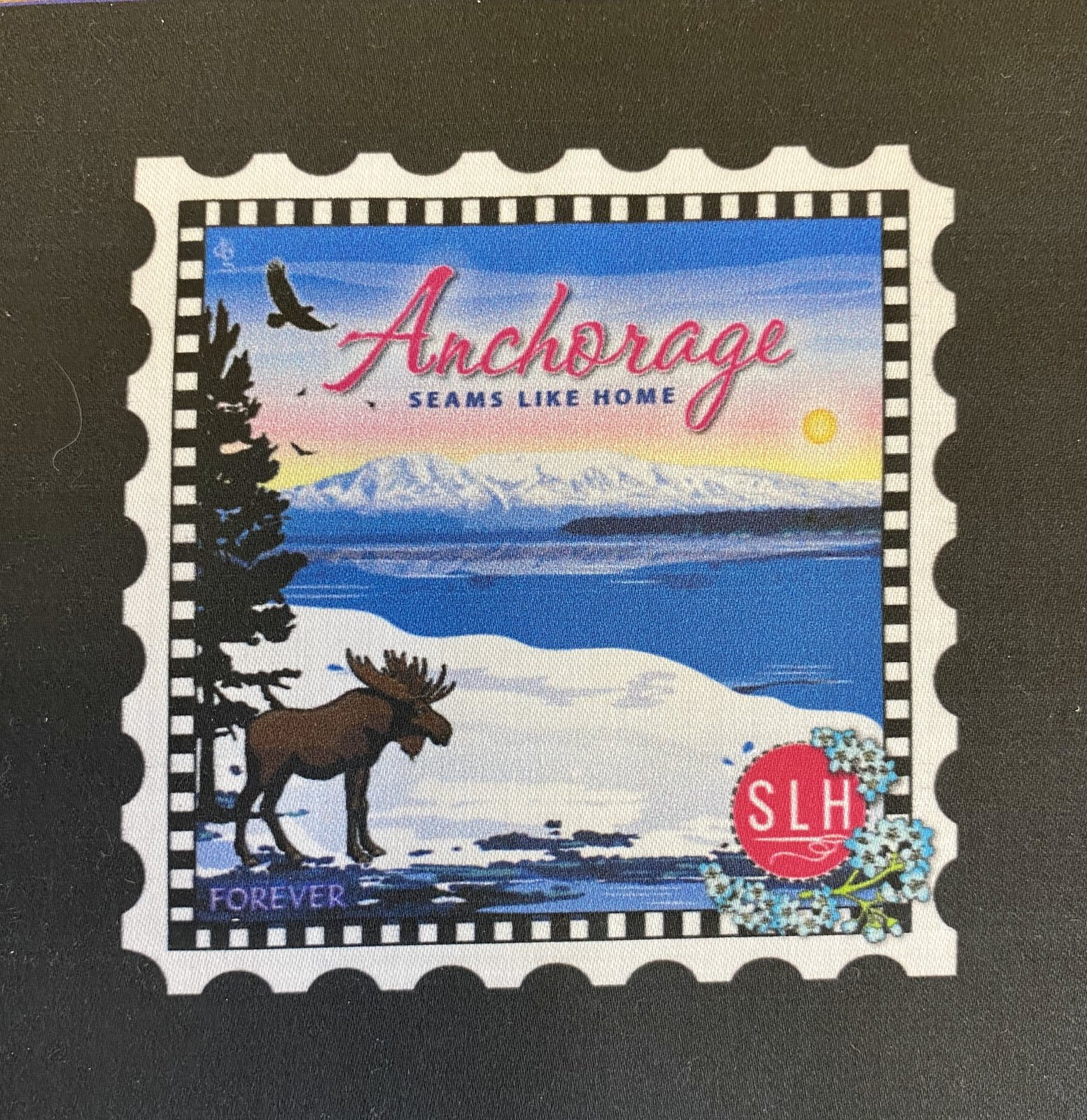 SLH Anchorage Charm Stamp