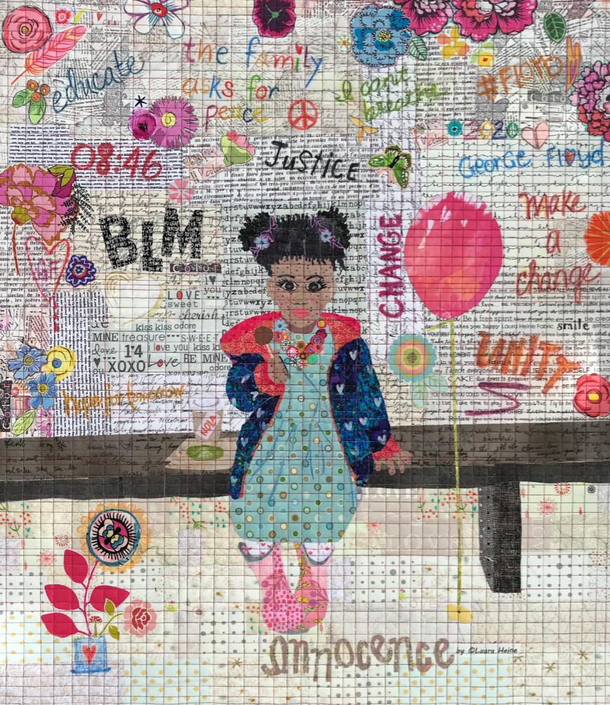 Innocence Collage pattern
