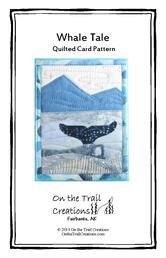 Whale Tale Quilted Card pattern