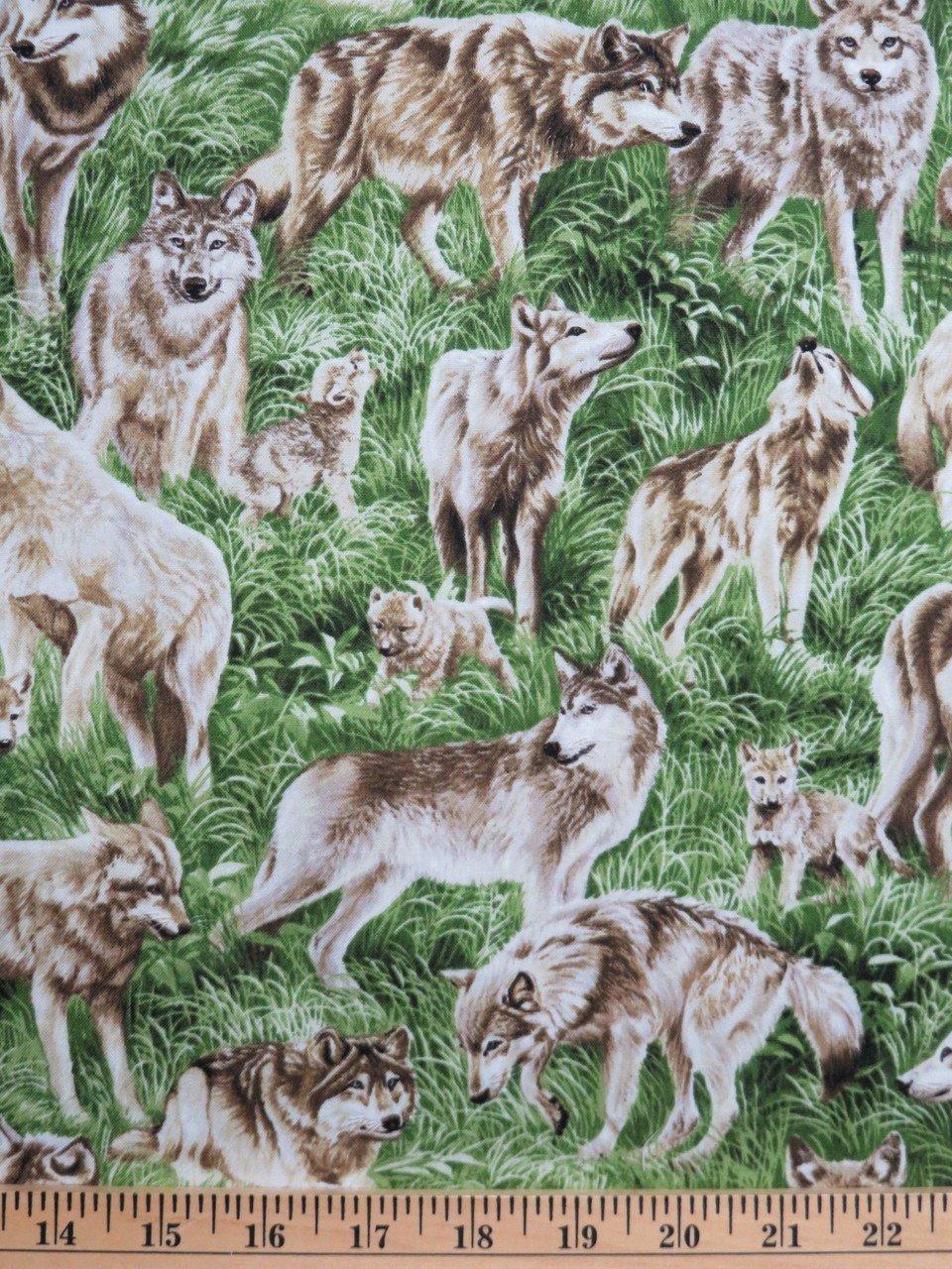 FQ American Wildlife Wolf