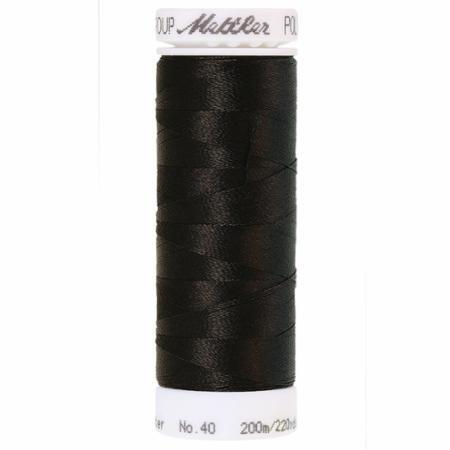 Mettler Polysheen - 0020 Black