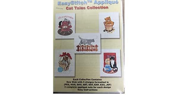 Easy Stitch Applique - Cat Tales