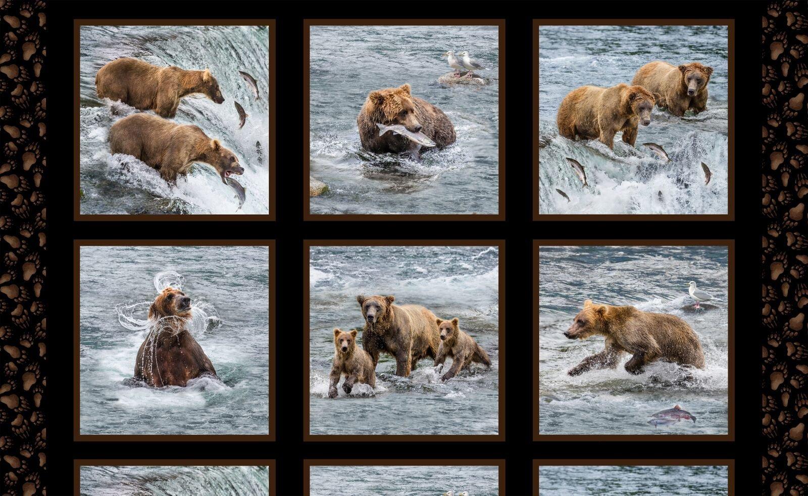 Fishing Bears Panel
