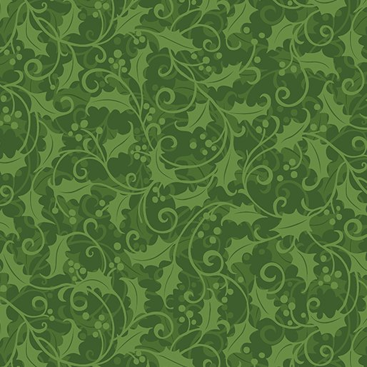Better Not Pout - Holly Swirl Green