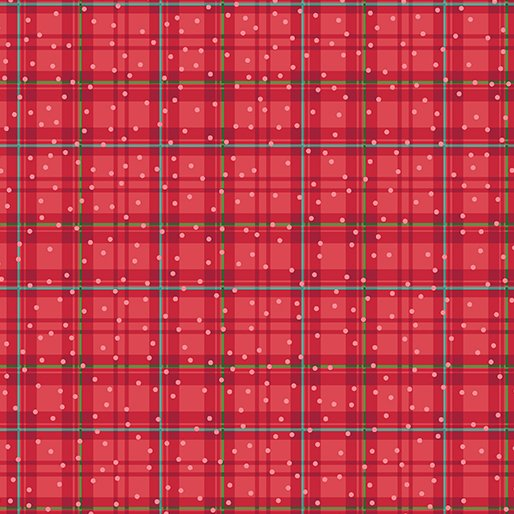 Better Not Pout - Winter Plaid Red
