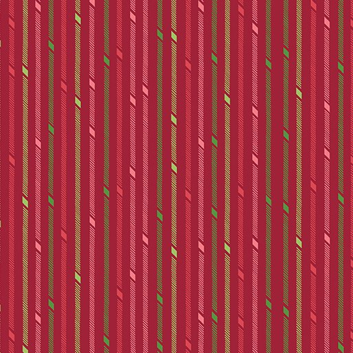 Better Not Pout - Candy Stripe Red