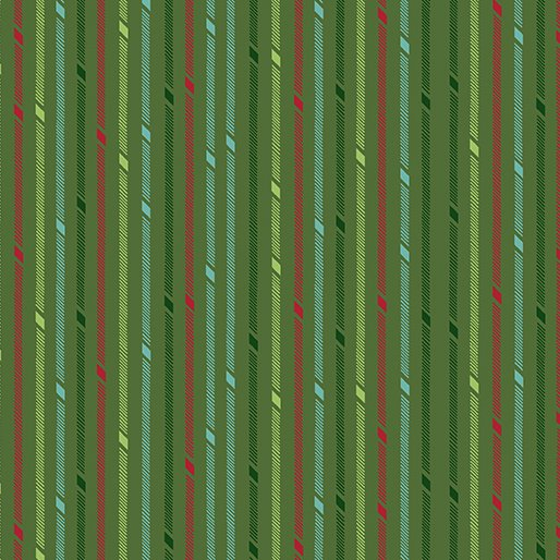 Better Not Pout - Candy Stripe Green