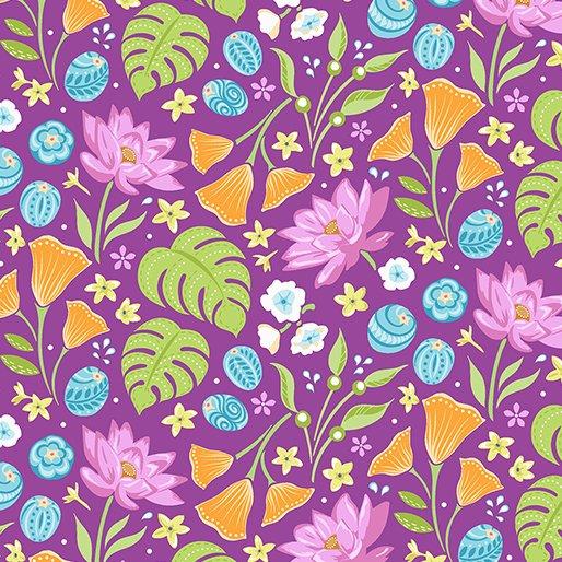 Crescendo - Floral Plum
