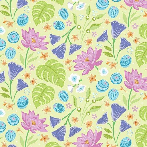 Crescendo - Floral Lime