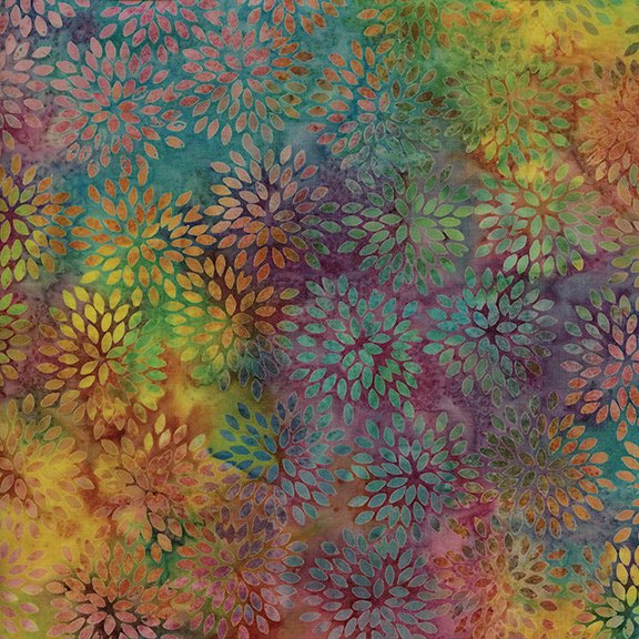 Island Batik Sweet Nectar Small Pointed Floral