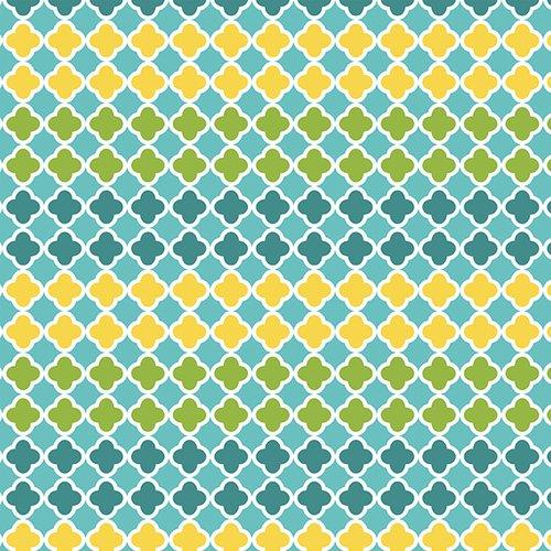 Ain't Life a Hoot - Blue/Green Mosaic