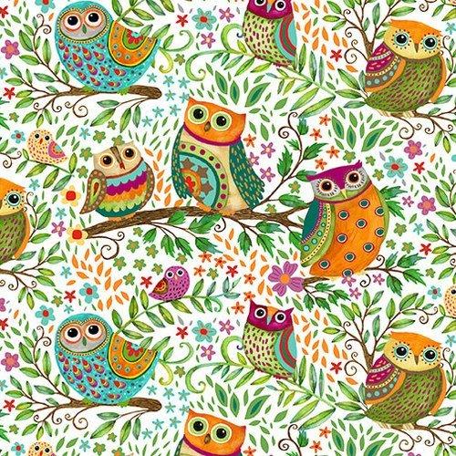 Spring Awakens - White Owls