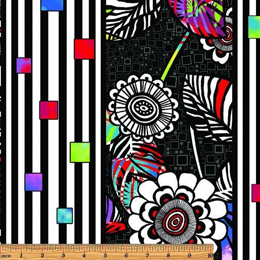 Anything Goes Stripe- Black