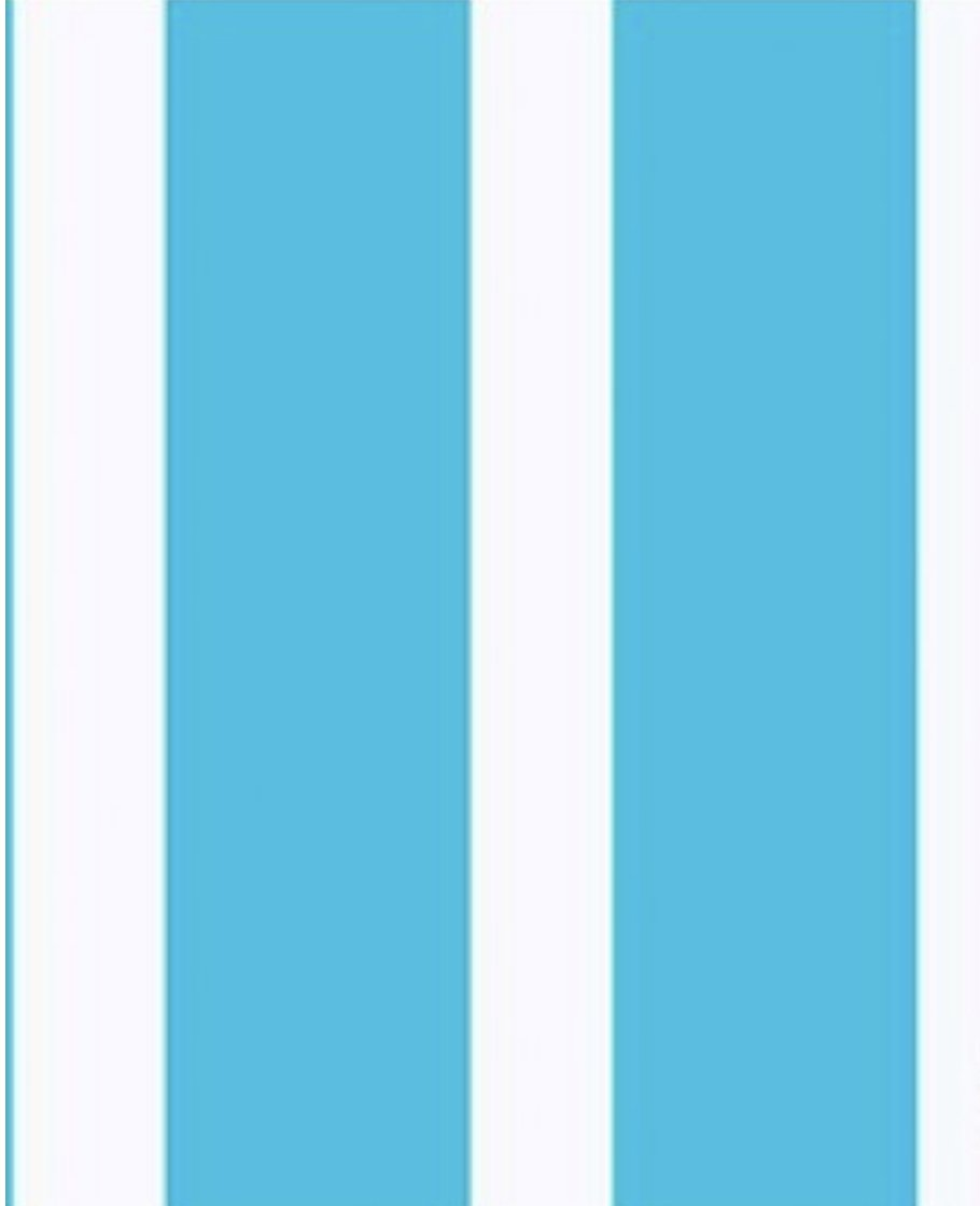 Let's Play Dolls Summer Fun Stripe Turquoise