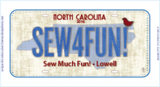 2016 License Plate