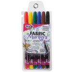 Tulip Fine Tip Fabric Markers - Primary
