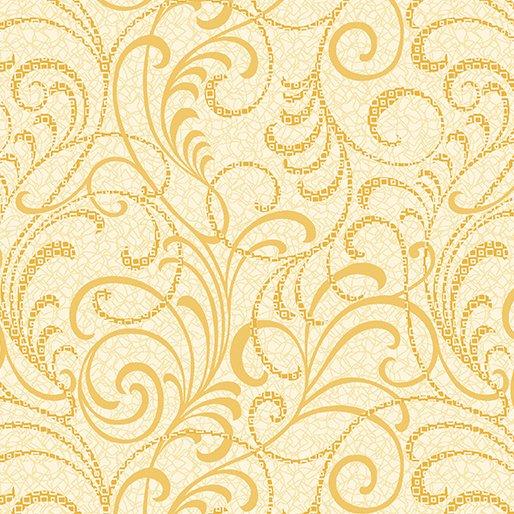 Scrolls Squared - Yellow