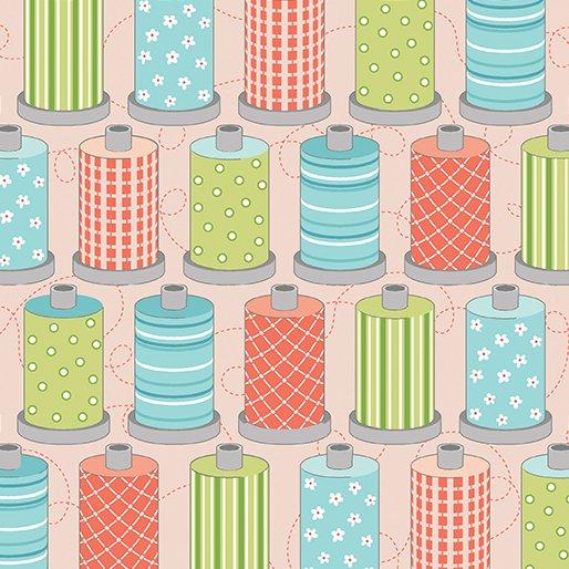 Sewing Room Spools - Pink