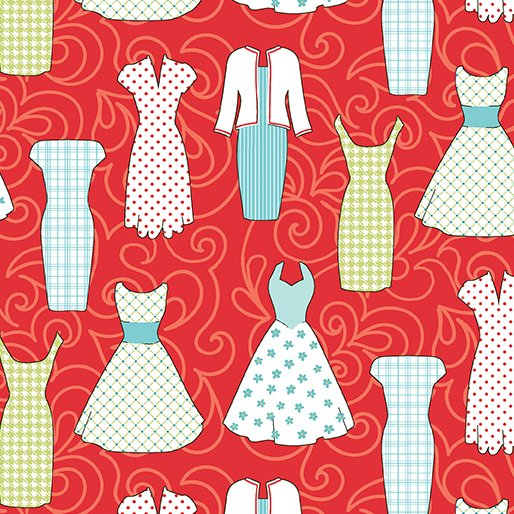 Sewing Room Dresses - red