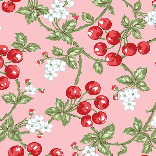 Simply Chic Cherries - Pink