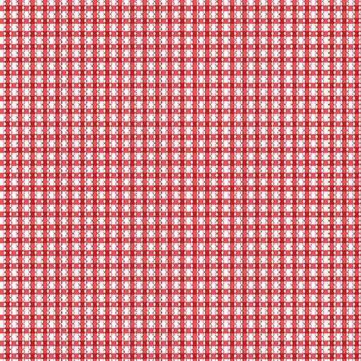 Simply Chic Gingham - Red