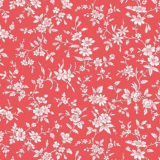 Simply Chic Blossom - Red