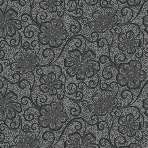 Meadow Dance Floral Blender - Dark Grey