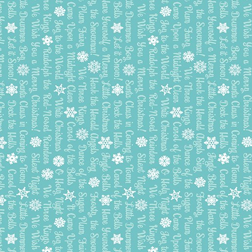 Christmas Magic - Text Teal
