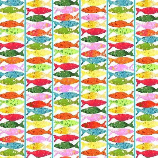 Ocean State Fish Stripe Multi