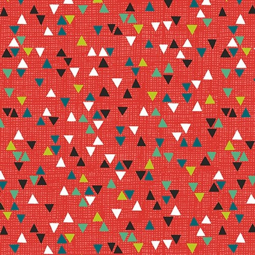 Into The Woods - Small Triangles Red